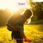 Sergio jugando